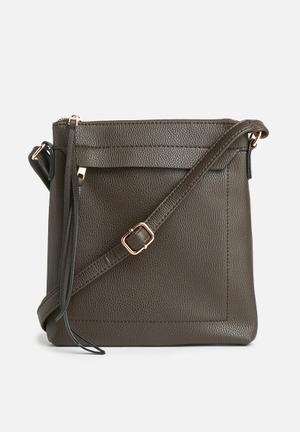 New Look Dilys Plain Xbody Bags & Purses Brown