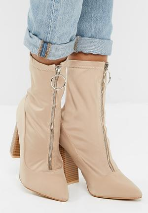 06dcd76ee4ba Sceptic zip front ankle boot