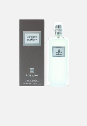 Givenchy Givenchy Monsieur Edt 100ml Spray Fragrances