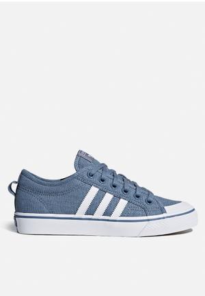 Adidas Originals Nizza W Sneakers Raw Steel S18/FTWR White