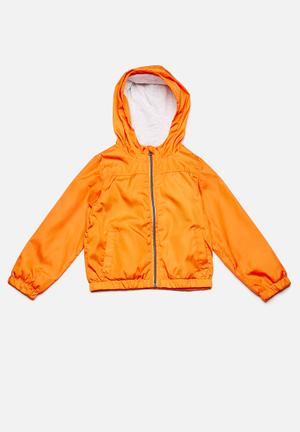 Kids mix solid jacket