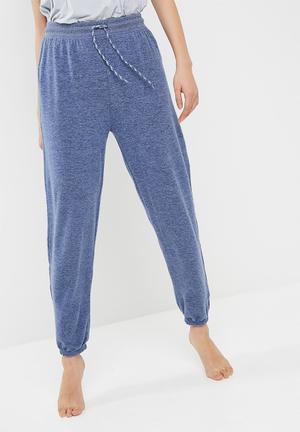 Cotton On Super Soft Lounge Pants Sleepwear Blue