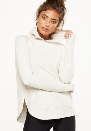 Cotton On Long Sleeve Chia Hood Top Hoodies, Sweats & Jackets Cream
