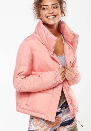 Cotton On Explorer Puffer Jacket Pink