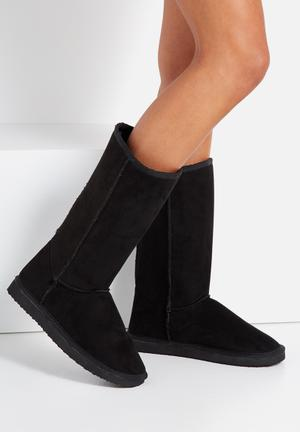 Cotton On Tall Home Boot Black