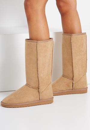 Cotton On Tall Home Boot  Honey Tan