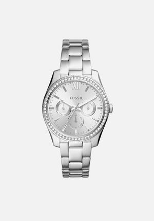 Fossil Scarlette Watches Silver