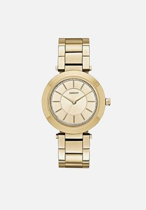 DKNY Stanhope Watches Gold