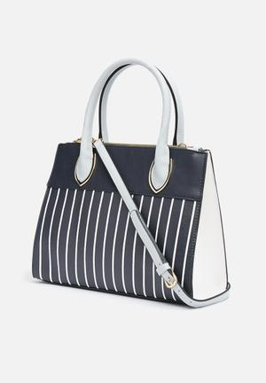 Call It Spring Cabiate Bags & Purses Navy & White
