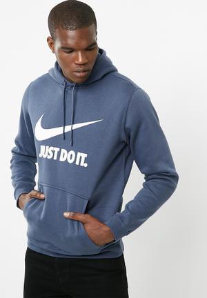 Nike Nsw Hoodie Hoodies, Sweats & Jackets Blue & White