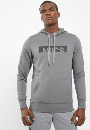 Asics Essential GPX Hoodie Hoodies, Sweats & Jackets Charcoal