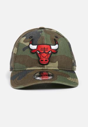 New Era 9Forty Chicago Bulls Headwear 100% Cotton