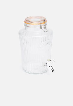 Kilner Vintage Drinks Despenser Drinkware & Mugs Glass