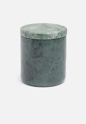 Linen House Marble Canister Bath Accessories Marble