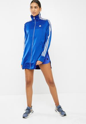 Adidas Originals Fashion League Track Top Hoodies, Sweats & Jackets Blue
