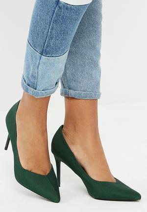 Dailyfriday Pointed Stiletto Heel - Green Emerald