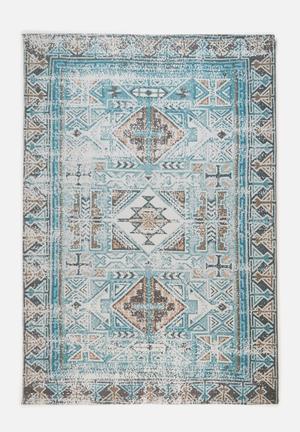 Cassius printed jacquard rug