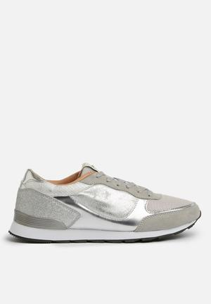 ONLY Sillie Mix Sneaker Pumps & Flats Silver
