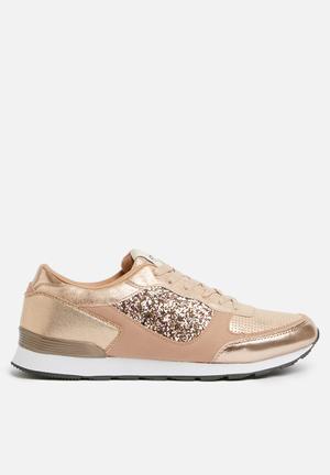 ONLY Sillie Mix Sneaker Pumps & Flats Rose Gold
