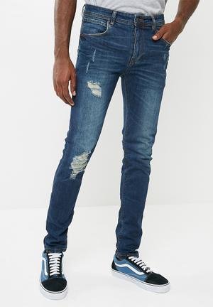 Basicthread Skinny Jeans Blue