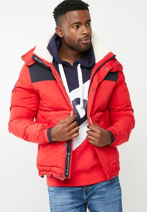Superdry. SD Expedition Jacket Red