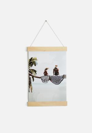Sarah Allderman A3 Hanging Poster Accessories