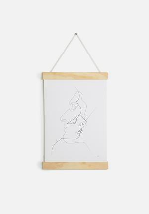 Quibe A3 Hanging Poster Accessories