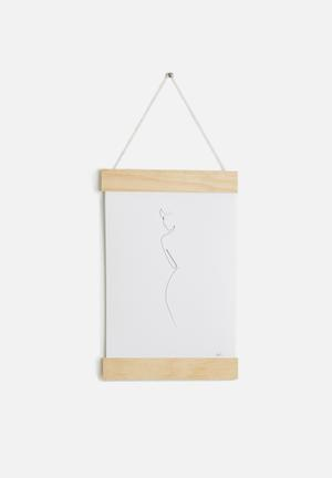 Quibe A4 Hanging Poster Accessories