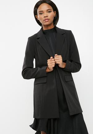 ONLY Kiara Long Blazer Jackets Black