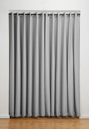 Sixth Floor Eyelet Curtain 2 Pack 100% Polyester