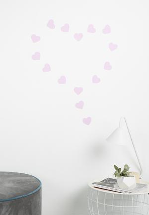 Simply Child Heart Decals Decor Vinyl