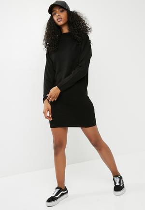 Jacqueline De Yong Tint Dress Casual Black