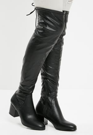 ALDO Abiwia Over The Knee Boot - Black Black