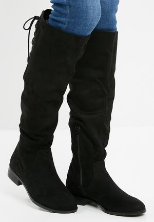 ALDO Catera Long Boot - Black Black