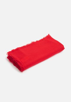 Cotton On Take Me Away Scarf Red