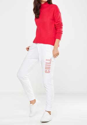 Cotton On Adele Trackpant Trousers White