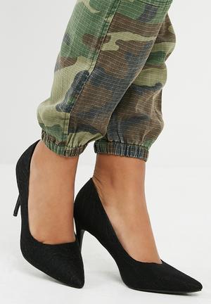 Dailyfriday Lace Stiletto High Heel - Black Black