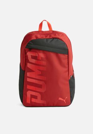 PUMA Pioneer Backpack Bags & Wallets Red & Black