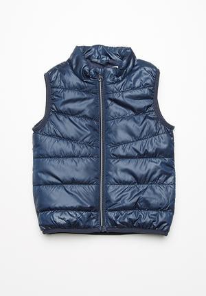 Name It Mylan Vest - Navy Jackets & Knitwear Navy
