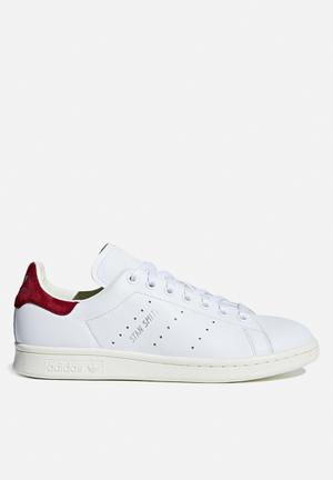 Adidas Originals Stan Smith W Sneakers White/Collegiate Burgundy