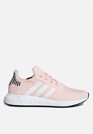 Adidas Originals Swift Run Trainers Icey Pink F17/FTWR White/Core Black