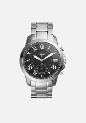 Fossil Q Grant Watches Silver