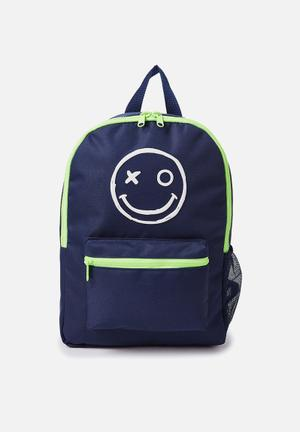 Cotton On Kids School Backpack Accessories Blue & Green
