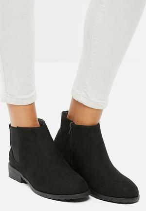 New Look Dollar Chelsea Boot Black