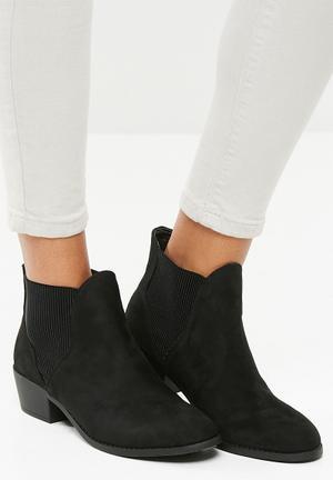 New Look Beat Chelsea Ankle Boot - Black  Black