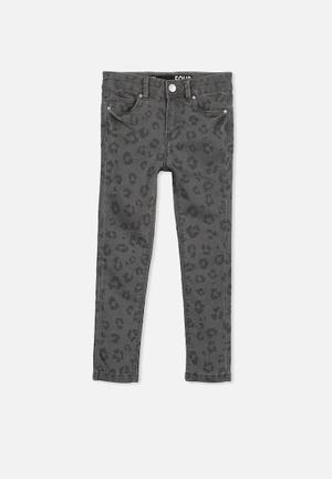 Cotton On Kids Juno Stretch Jeans Black