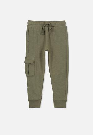 Cotton On Kids Lewis Trackpants Green