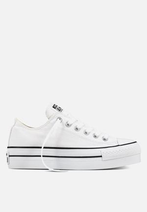 Converse Chuck Taylor All Star Platform Low Sneakers White