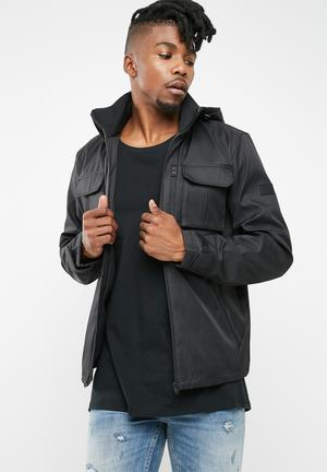Jack & Jones Weel Hooded Jacket Black