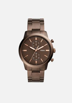 Fossil Townsman Watches Brown